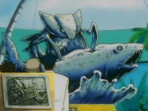 Kabutops_Fish_Statue