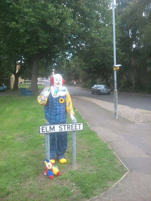 Clown on Elm Street