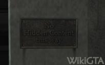 No Hidden Content